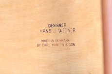画像11: 北欧ビンテージ家具/Hans j Wegner/ハンス J ウェグナー/Carl Hansen & Son/CH33/ダイニングチェア/チーク  (11)