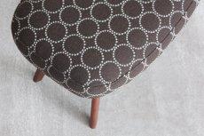 画像3: 北欧ビンテージ家具/デンマーク製/スツール✕ミナ ペルホネン/タンバリン (3)