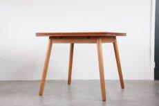 画像2: 北欧ビンテージ家具/デンマーク製 /ポール M ヴォルザー/ダイニングテーブル/チーク&オーク (2)