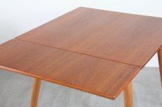画像7: 北欧ビンテージ家具/デンマーク製 /ポール M ヴォルザー/ダイニングテーブル/チーク&オーク (7)