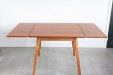 画像6: 北欧ビンテージ家具/デンマーク製 /ポール M ヴォルザー/ダイニングテーブル/チーク&オーク (6)