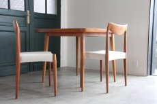 画像1: 北欧ビンテージ/スウェーデン製/ダイニングテーブル/正方形/エクステンション2枚付き/チーク (1)