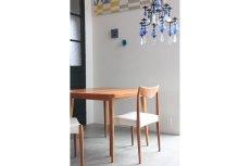 画像3: 北欧ビンテージ/スウェーデン製/ダイニングテーブル/正方形/エクステンション2枚付き/チーク (3)