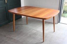 画像10: 北欧ビンテージ/スウェーデン製/ダイニングテーブル/正方形/エクステンション2枚付き/チーク (10)