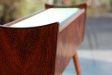 画像4: ビンテージ北欧家具/デンマーク製/ローズウッド/フラワープランター/フラワースタンド (4)