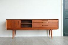 画像3: ビンテージ北欧家具/デンマーク製/Omann Jun Møbelfabrik/サイドボード/チーク  (3)