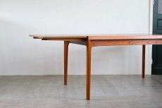 画像3: 北欧ビンテージ家具/デンマーク製 /Henning Kjærnulf/ダイニングテーブル/チーク/W140cm (3)