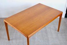 画像8: 北欧ビンテージ家具/デンマーク製 /Henning Kjærnulf/ダイニングテーブル/チーク/W140cm (8)