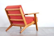 画像2: ビンテージ北欧家具/Hans j Wegner/ハンス J ウェグナー/ゲタマ/GE290/オーク/クッションはお好きなカラーで張替え代込 (2)