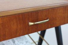 画像4: 北欧ビンテージ家具/スウェーデン/チーク×ビーチ/ベッドサイドテーブル+マガジンラック (4)
