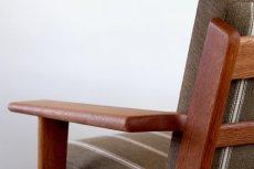 画像6: ビンテージ北欧家具/ハンス J ウェグナー/GE290/3人掛けソファー/オーク (6)