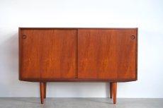 画像3: 北欧ビンテージ家具/チークサイドボード (3)