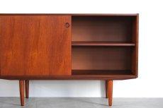 画像7: 北欧ビンテージ家具/チークサイドボード (7)