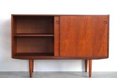 画像2: 北欧ビンテージ家具/チークサイドボード (2)