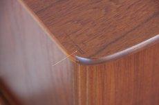 画像5: ビンテージ北欧家具/デンマーク製/ジャバラキャビネット/チーク (5)