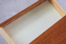 画像5: ビンテージ北欧家具/スウェーデン/チーク×ビーチ/ベッドサイドテーブル (5)