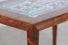 画像5: ビンテージ北欧家具/デンマーク/ロイヤルコペンハーゲン/ローズウッド/タイルテーブル (5)