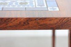 画像7: ビンテージ北欧家具/デンマーク/ロイヤルコペンハーゲン/ローズウッド/タイルテーブル (7)