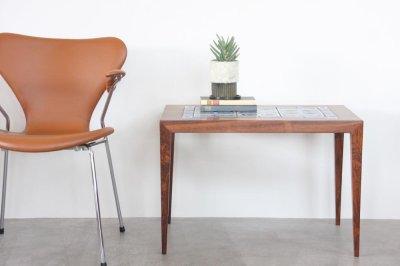 画像1: ビンテージ北欧家具/デンマーク/ロイヤルコペンハーゲン/ローズウッド/タイルテーブル