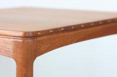 画像2: 北欧家具/ヴィンテージ/スウェーデン製/Tingstoms/チーク無垢/サイドテーブル  (2)