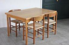 画像2: 北欧ビンテージ家具/ダイニングテーブル/Borge Mogensen/ボーエ・モーエンセン/スウェーデン製 (2)