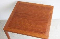 画像3: 北欧ビンテージ家具/チーク/サイドテーブル  (3)