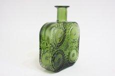 画像5: Riihimaen Lasi/Grapponia/ナニー・スティル グラッポニアボトル グリーン (5)