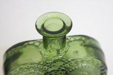 画像3: Riihimaen Lasi/Grapponia/ナニー・スティル グラッポニアボトル グリーン (3)