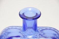 画像2: Riihimaen Lasi/Grapponia/ナニー・スティル グラッポニアボトル ブルー (2)