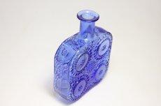 画像5: Riihimaen Lasi/Grapponia/ナニー・スティル グラッポニアボトル ブルー (5)