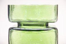 画像4: 北欧雑貨 Riihimaen Lasi Palaシリーズ 花瓶 モスグリーン Lサイズ (4)