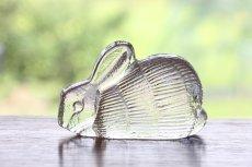 画像2: スウェーデン/Royal Krona/ガラスのウサギ/リサ・ラーソン/ビンテージ (2)