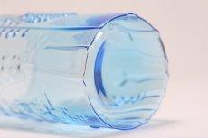 画像6: 北欧ビンテージガラス/オイバトイッカ/フローラ/ヌータヤルヴィ/グラス/タンブラー/オリジナルボックス付き/6個セット/未使用品/ブルー/高さ10cm (6)