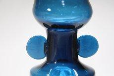 画像5: 北欧ガラス/BODA/Bertil Vallien /バーティル・ヴァリーン/フラワーベース/高さ18cm (5)