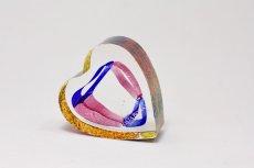 画像1: 北欧ガラス /KOSTA BODA /Bertil Vallien/Mini Sculptures/My Heart/ハート (1)