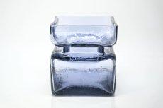 画像1: 北欧雑貨/Riihimaen Lasi/リーヒマエンラシ/Palaシリーズ/花瓶/ラベンダー/Lサイズ (1)