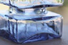 画像7: ビンテージ北欧雑貨/Riihimaen Lasi /リーヒマエン・ラシ/Pala/パラ/花瓶/ラベンダー/Mサイズ (7)