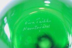 画像6: 北欧アートガラス/Oiva Toikka/オイバ・トイッカ/Nuutajarvi/ヌータヤルヴィ/アップルボトル/グリーン (6)