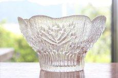 画像2: ビンテージ北欧ガラス/フィンランド/Lasisepat/フェンネル/クリア/花瓶/キャンドルホルダー (2)