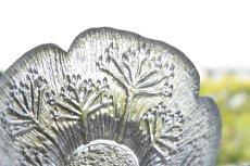 画像3: ビンテージ北欧ガラス/フィンランド/Lasisepat/フェンネル/クリア/花瓶/キャンドルホルダー (3)
