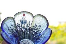 画像3: ビンテージ北欧ガラス/フィンランド/Lasisepat/クロッカス/レアカラーブルー/花瓶/キャンドルホルダー (3)
