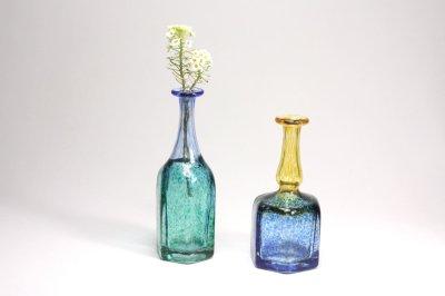 画像1: 北欧ガラス /KOSTA BODA /Bertil Vallien/ガラス/一輪挿しミニアチュール/No.1