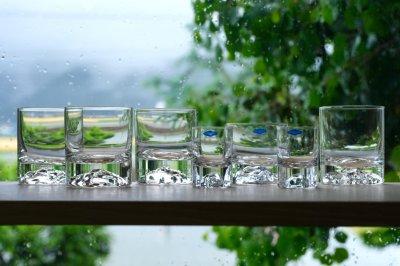 画像2: ビンテージ北欧雑貨/Nuutajarvi/ヌータヤルヴィ/Himalaja/ヒマヤラ/ロックグラス/LSサイズ/No.5