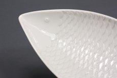 画像3: 北欧ビンテージ/Gustavsberg/グスタフスベリ/スティグ・リンドベリ/お魚プレート/ホワイト/Lサイズ (3)