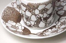 画像3: Gustavsberg/グスタフスベリ EMMA エマ ブラウン コーヒーカップ No.1 (3)