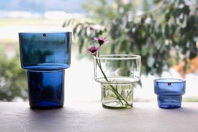 画像1: 北欧ビンテージガラス/Lisa Johansson Pape/リサヨハンソンパッペ/Viola/ビオラ/ベース/H17cm