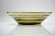 画像1: 北欧ビンテージガラス/Aino Aalto/アイノ・アアルト/Karhula/カルフラ/ボウル17cm/スモーク (1)
