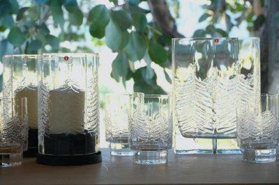 画像1: フィンランド/Iittala/イッタラ /Kuusi/クーシ /もみの木/H10/グラス/タンブラー