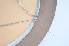 画像6: 北欧ビンテージ/Upsala Ekeby/ウプサラ エキュビ/マリ・シムルソン/円形ミラー/新品鏡交換済み (6)