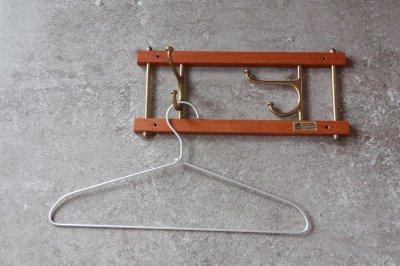 画像2: Skogslunds Metallgjuteri社製/ヴィンテージ真ちゅうウォールハンガー/フック/ 35cm/No.2